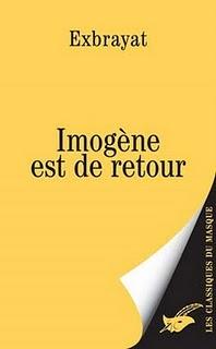 [Exbrayat] Imogène - Tome 2: Imogène est de retour Livre211