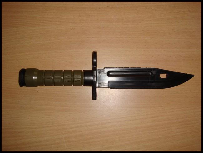 baïonnette M9 avec fourreau Dsc03012