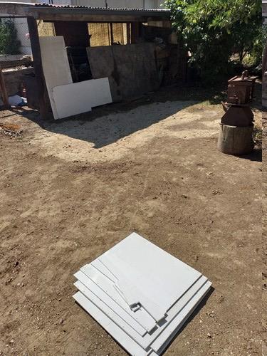 Fabrication de mon terrarium à Dendrobates en PVC expansé  recyclé !! 20190729
