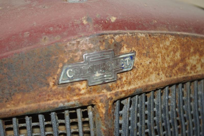 Camión Chevrolet ruinoso de antes de la Guerra Civil de 1936. Imgp0913