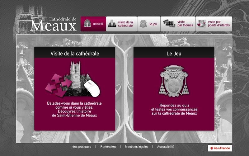 Visite virtuelle de la Cathédrale Saint Etienne de Meaux Cathed10