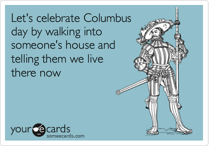 Happy Columbus' Day! A000db10