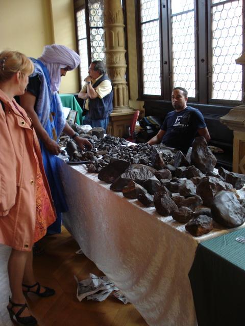 12ème bourse aux météorites d'Ensisheim Ensish14