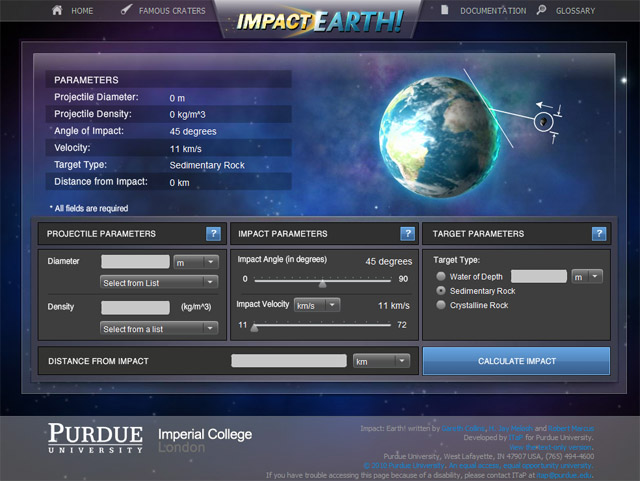 image impact earth