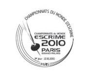 Timbres France (Escrime) - Championnats du Monde d'Escrime Escrim13