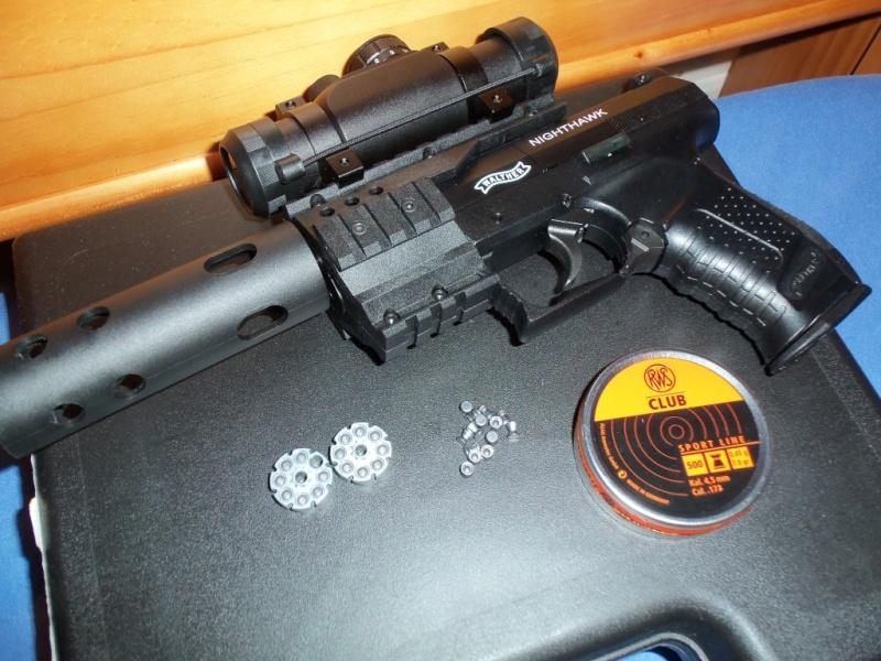 Mon 1er pistolet Co2: Umarex NIGHTHAWK...et son nouveau joujou 100_0115
