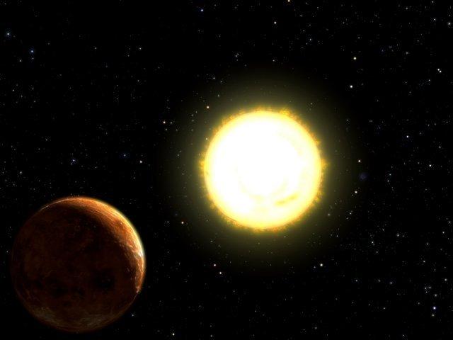 """Une exoplanète de type """"Neptune"""" très proche de son soleil 121810"""