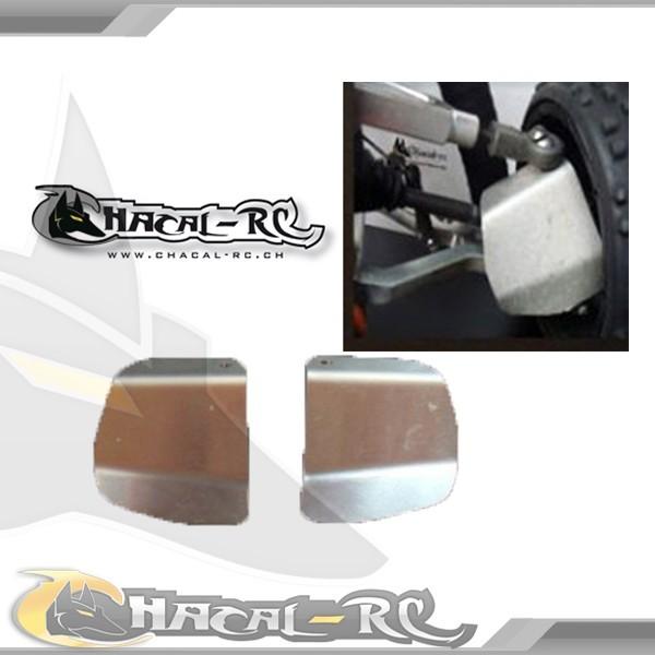 Protectores de palieres, capuchones y rodamientos traseros en aluminio Baja-h11