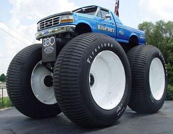 Ell monster truck más grande del mundo Bigfoo10