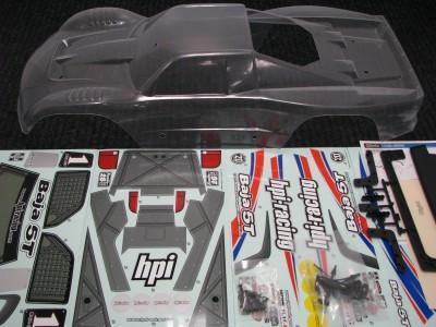 Todas las carrocerías disponibles para hpi baja: Body_f10