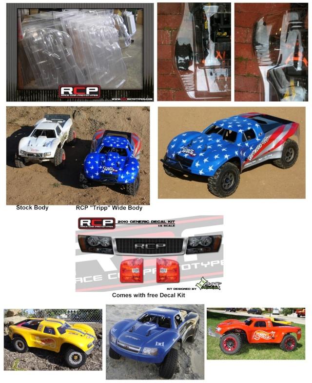Todas las carrocerías disponibles para hpi baja: Rcp_tr10