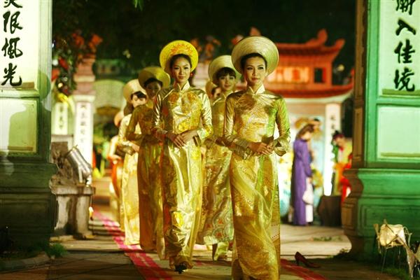 Lễ hội áo dài 3 miền Images18