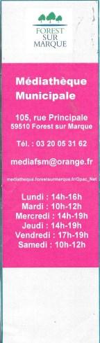 Mèdiathèque de Forest sur Marque 20761_10
