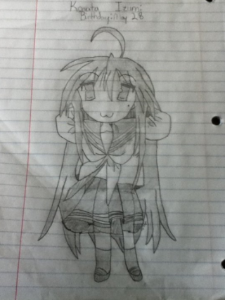 Lucky Star Drawings M_710