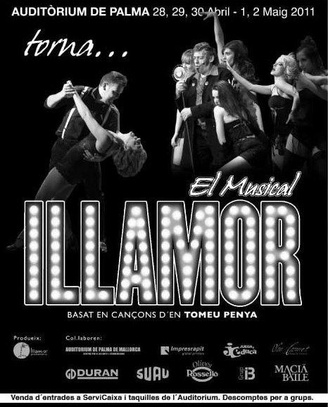 Musical ILLAMOR (basado en la música de Tomeu Penya) en el Auditorium 2011 Illamo10