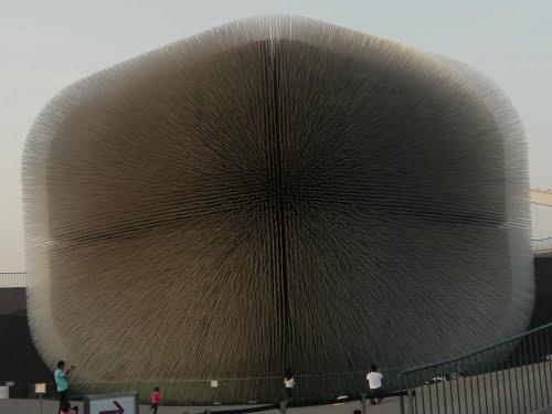 Un détail que vous n'aviez surement pas vu du pavillon anglais à l'exposition universelle de Shanghai  45202510