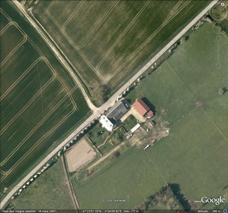 Antiquités romaines sous l'oeil de Google Earth Aquedu10