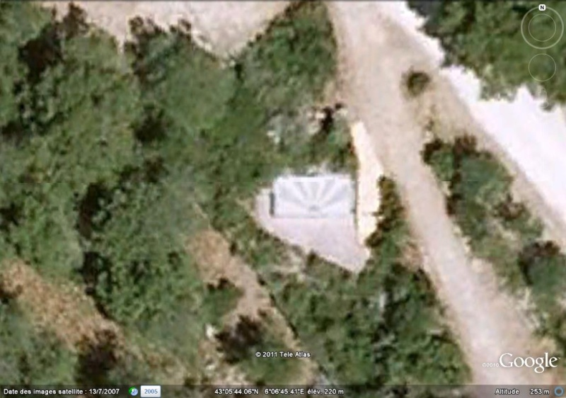 Les cadrans solaires découverts avec Google Earth Cadran10