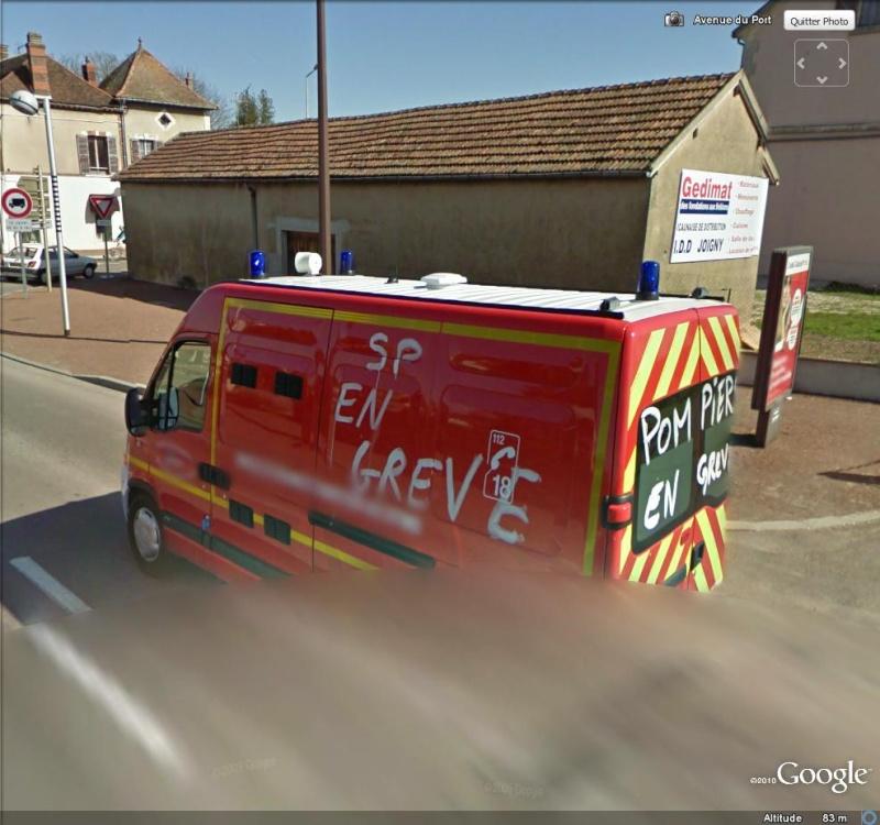 """STREET VIEW: les manifestations dans le Monde vues de la caméra des """"Google Cars"""" Grave10"""