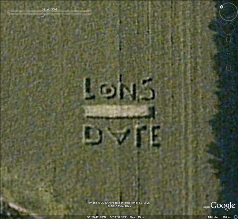 """Ecriture """"Lonsdale"""" à Rhenen ( Pays-Bas ) Longda10"""