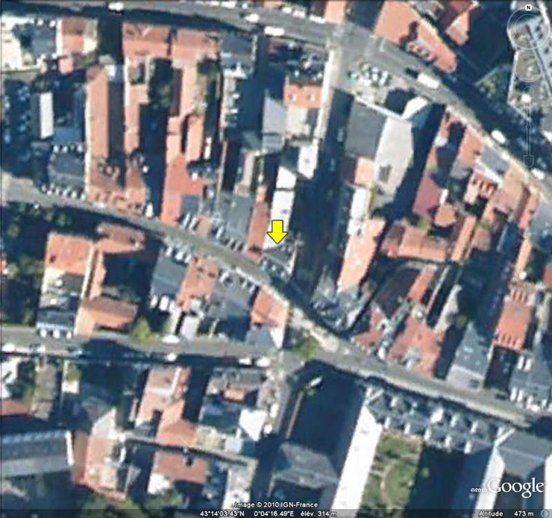 """Maisons natales des """"grandes figures"""" repérées dans Google Earth Maison10"""