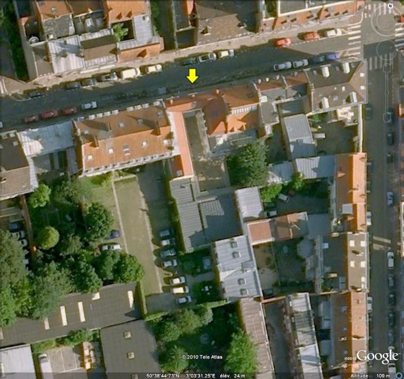 """Maisons natales des """"grandes figures"""" repérées dans Google Earth Maison13"""