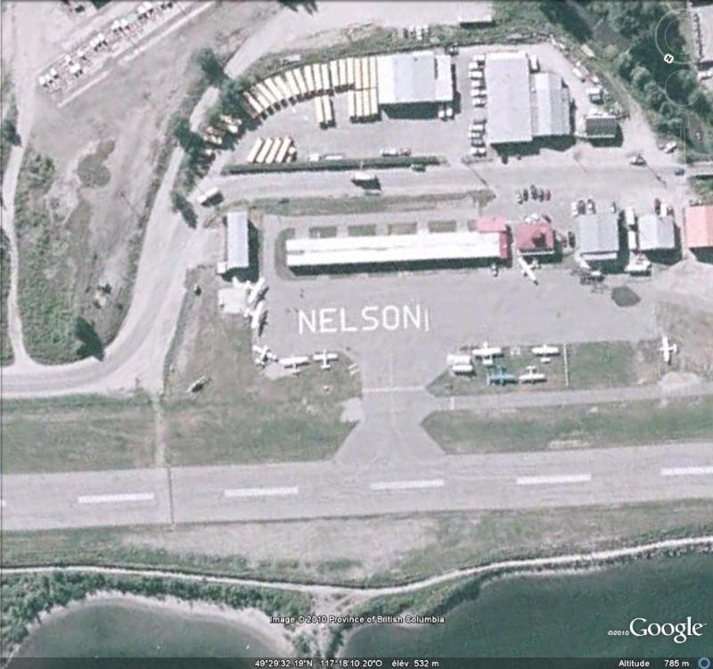 Les inscriptions et écritures sur aérodromes et aéroports - Page 4 Nelson10