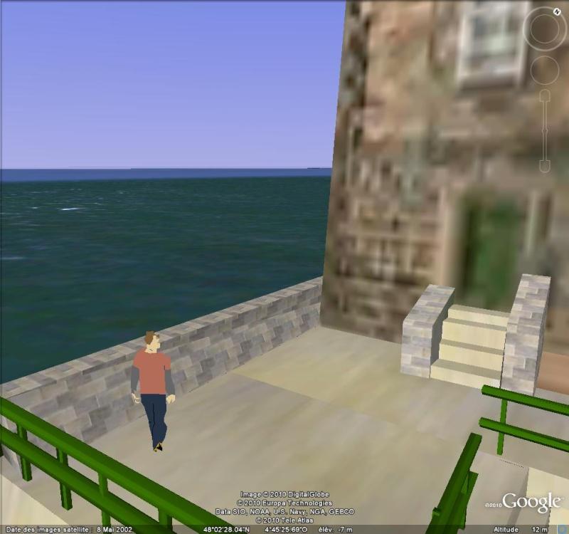 Google Earth en version 3D : les êtres humains modélisés eux-aussi Person10