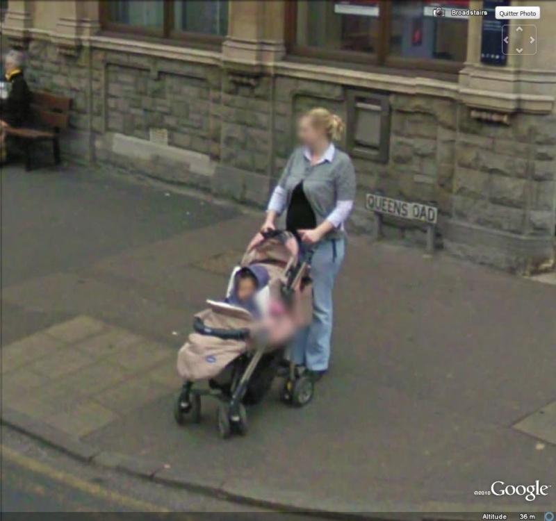 STREET VIEW : Et dire qu'on trouve que 50km/h c'est trop lent ... ( Broadstairs , Angleterre ) Pousse10