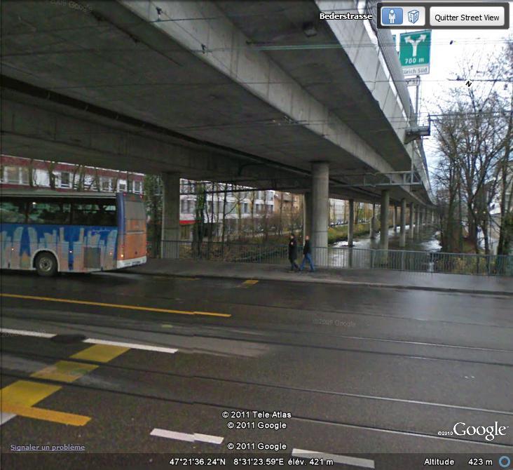 Street View : Un pont , au dessus d'un pont , au dessus d'une rivière  Ppr10