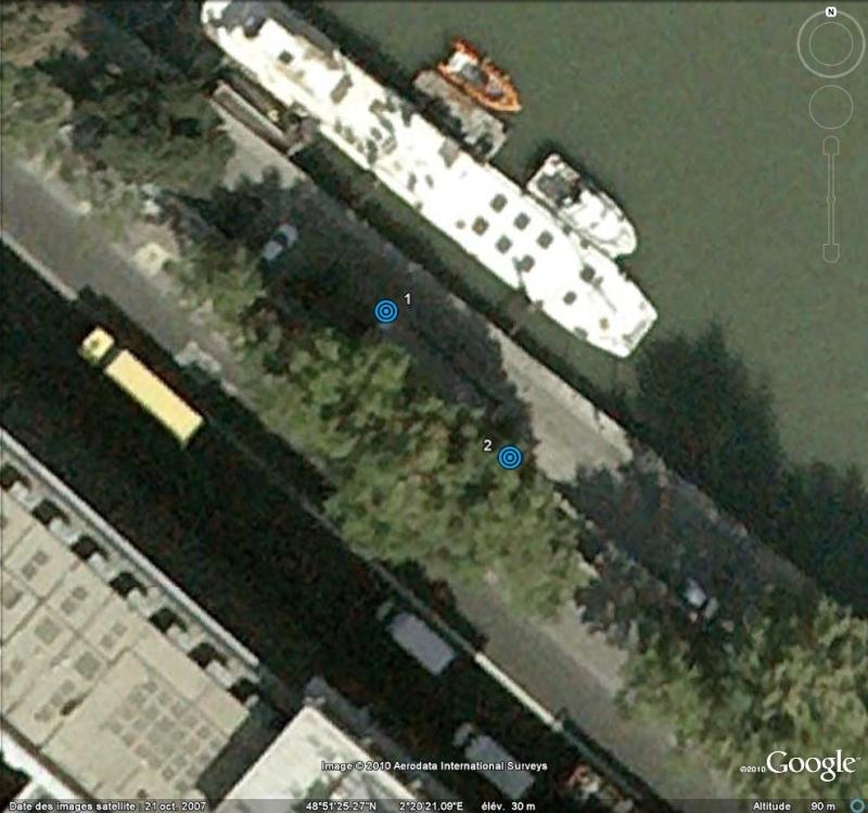 Street View : Les repères de crue Repare12