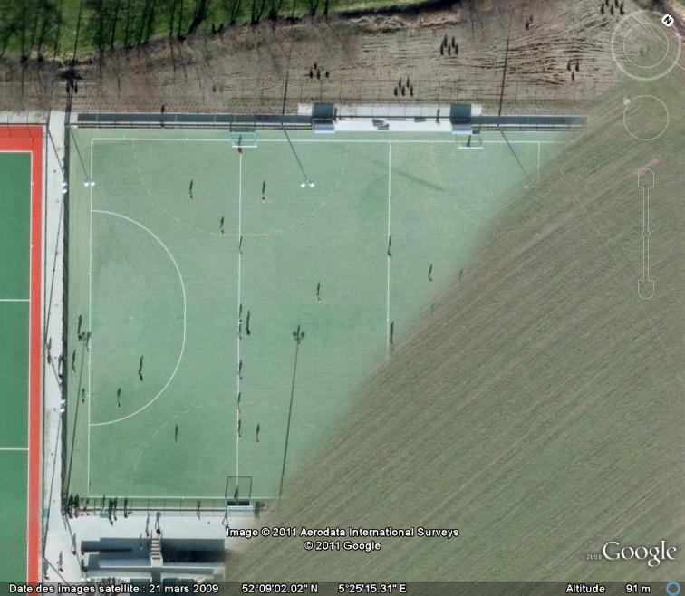 Terrain de hockey sur gazon, Schuilenburg - Pays-Bas Terrai10