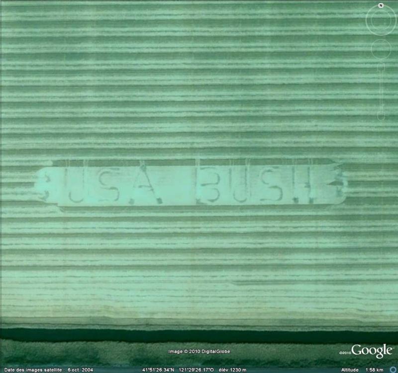 Pubs géantes Pro Bush - Etats-Unis Usa_bu10