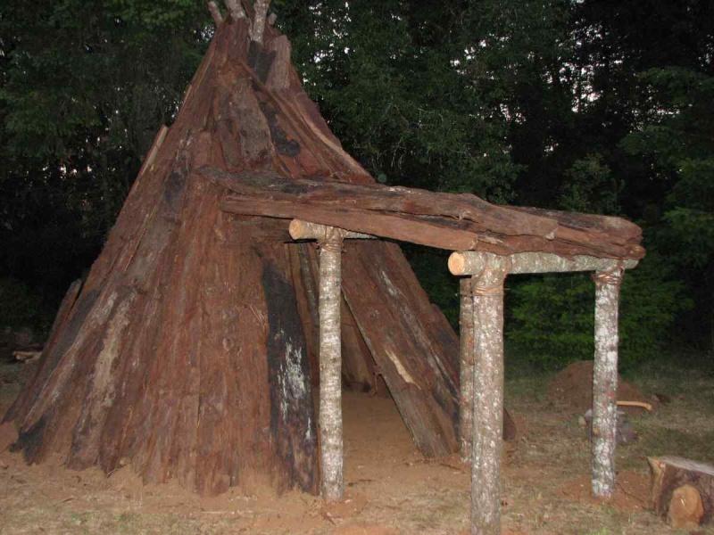 Les superstructures en préhistoire Tipis_11