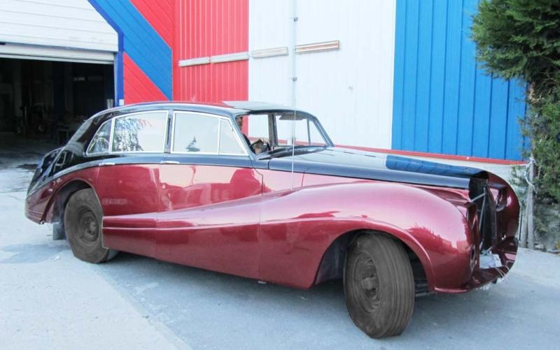 Bonjour je m'appelle Claudine, mon travail; la carrosserie et la peinture automobile Bentle10