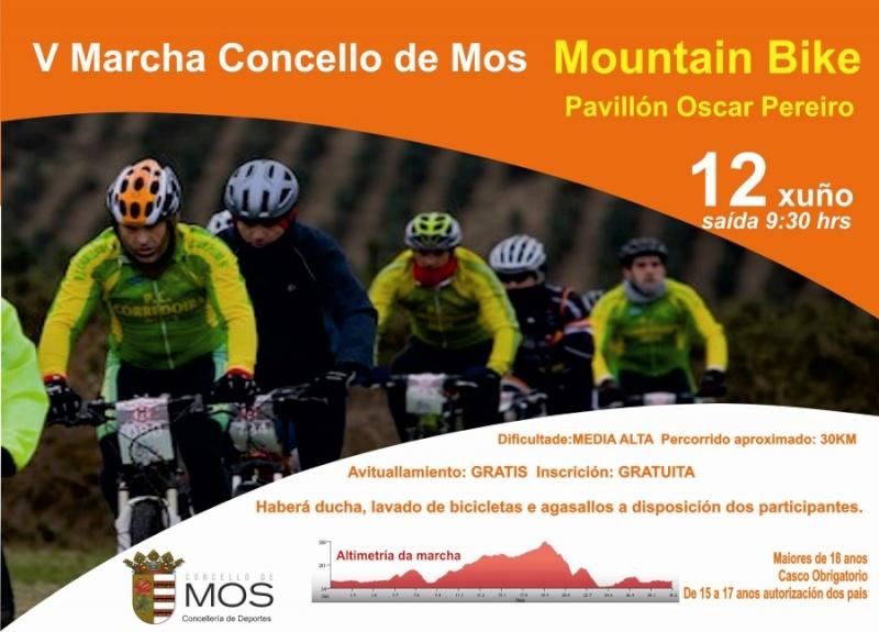 MARCHA BTT CONCELLO DE MOS  2011 Cartel14