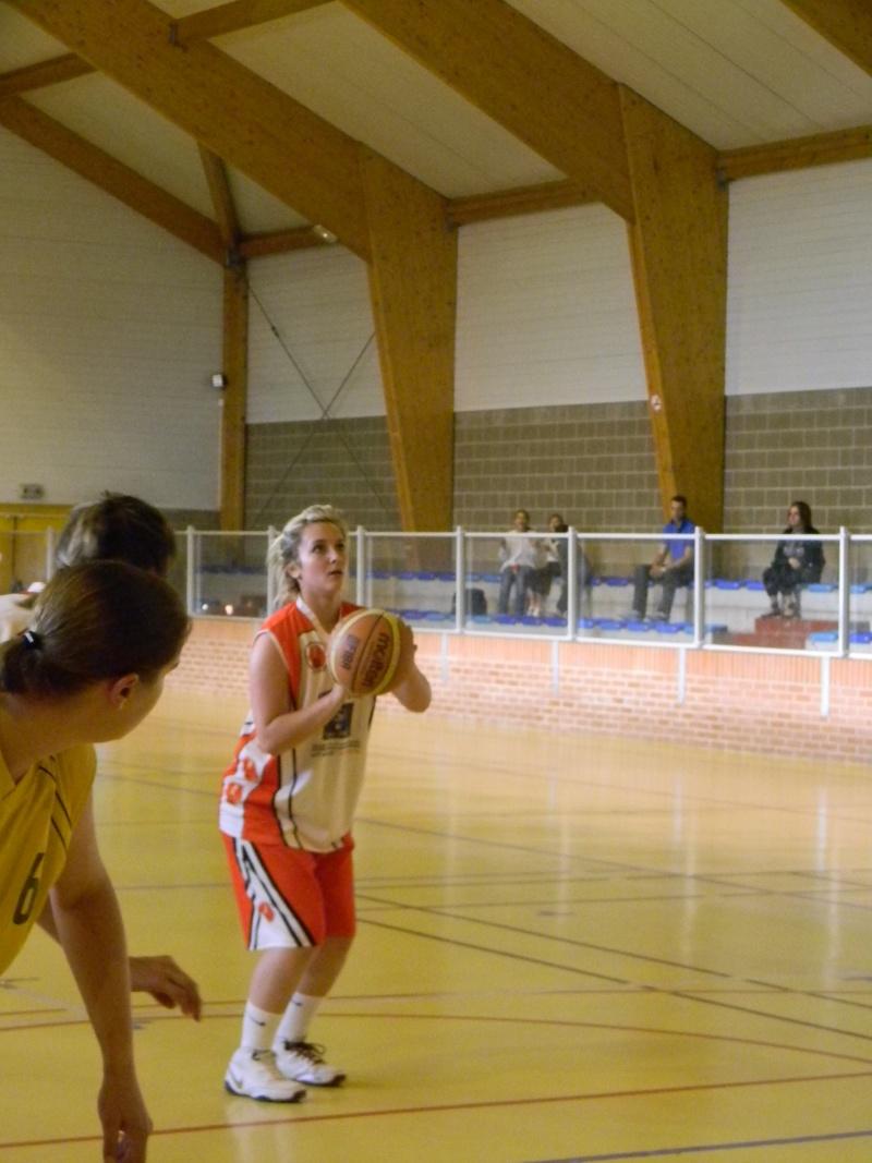 match amical séniors haulchin Basket14