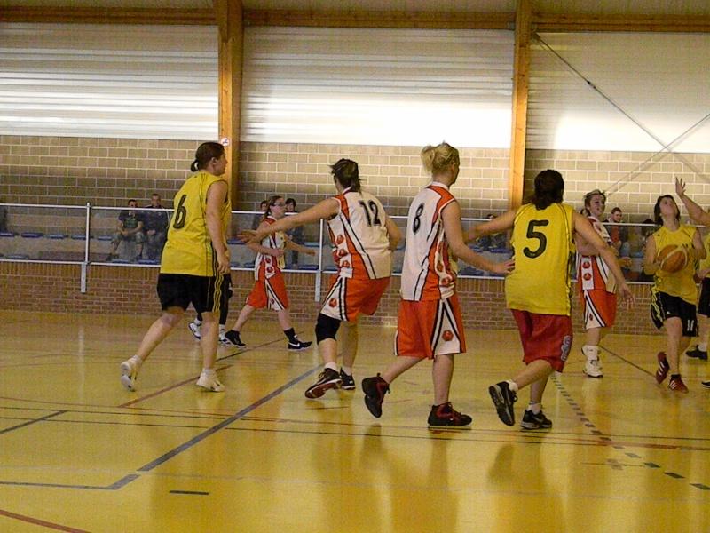 match amical séniors haulchin Basket16
