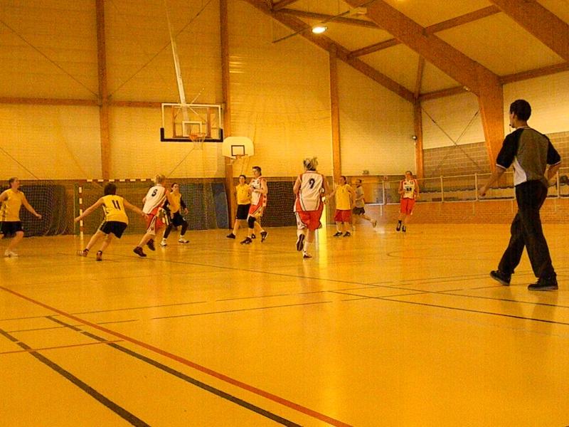 match amical séniors haulchin Basket17