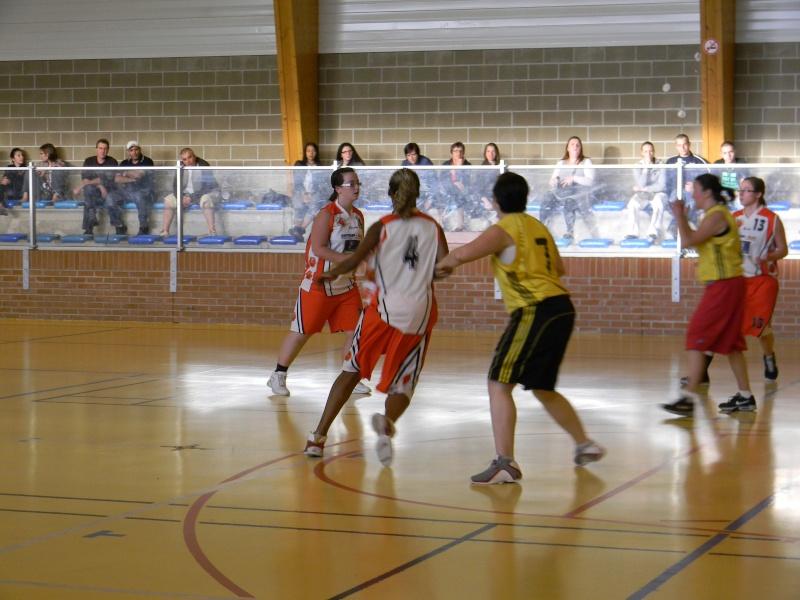 match amical séniors haulchin Basket18
