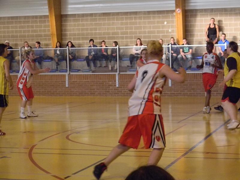 match amical séniors haulchin Basket19