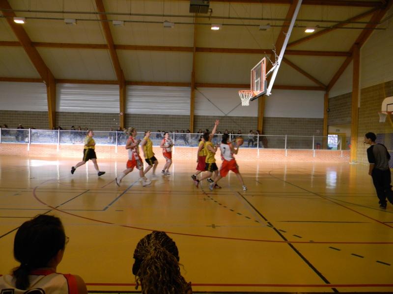match amical séniors haulchin Basket21