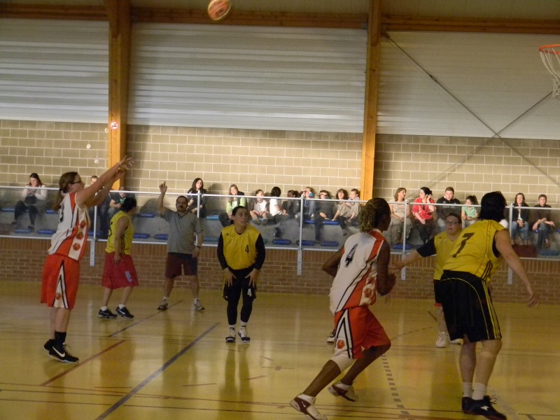 match amical séniors haulchin Basket22