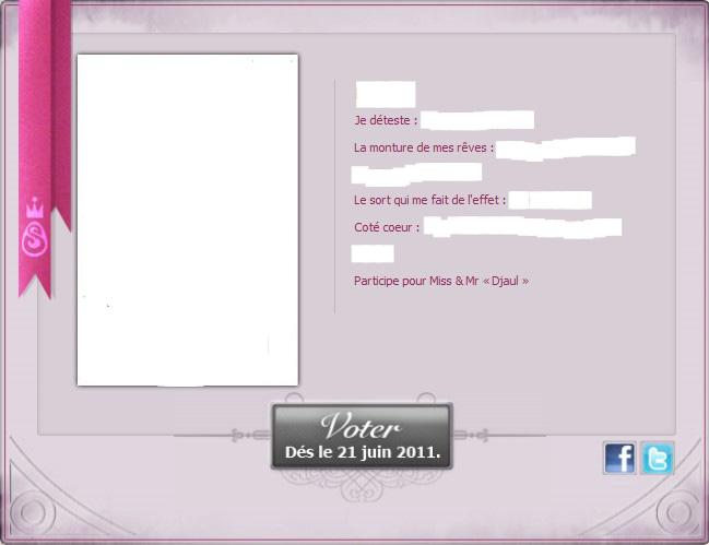 [EVENT ANKAMA] Faites-vous connaître pour le concours de Miss&Mister Amakna ! Dev_co10