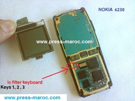 Nokia 6230 RH-12 Keyboard solution File1410