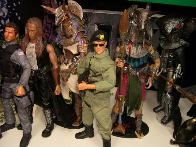 Stargate équipe SG1 et autres protagonistes Dscn0735