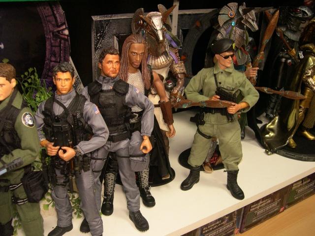 Stargate équipe SG1 et autres protagonistes Dscn0736