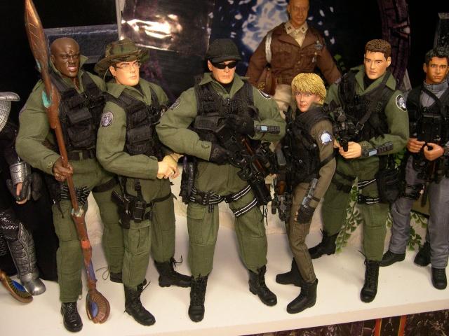 Stargate équipe SG1 et autres protagonistes Dscn0737