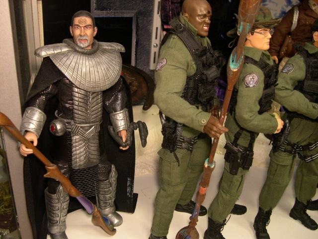 Stargate équipe SG1 et autres protagonistes Dscn0739