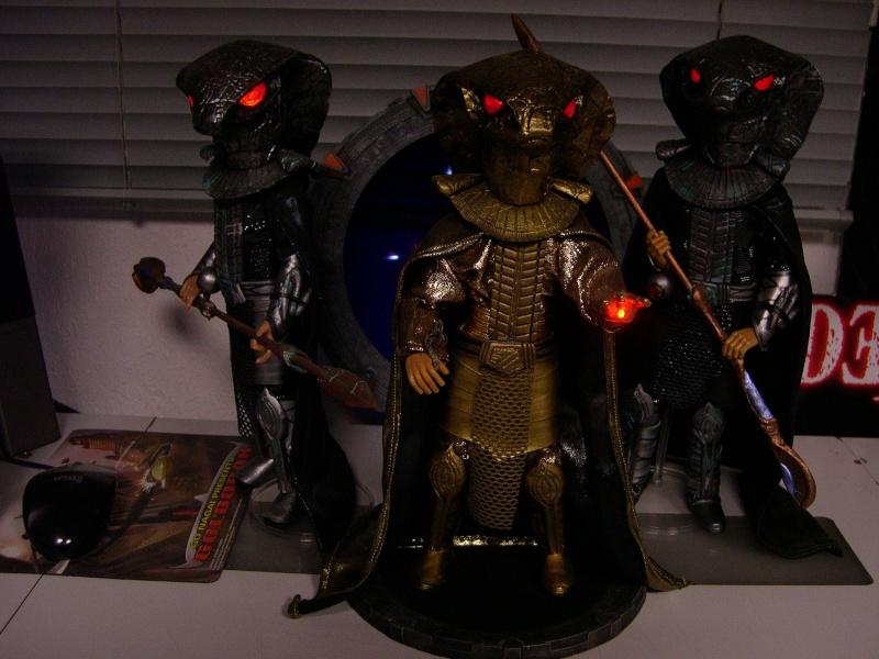 Stargate équipe SG1 et autres protagonistes Dscn0818